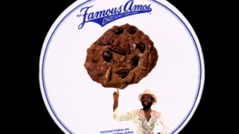 Famous amos cookies founder