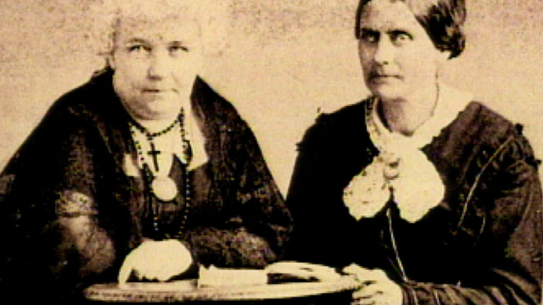 the fight of elizabeth stanton and susan anthony for equal rights for women Susan b anthony and elizabeth cady stanton: the fight for  susan b anthony - speech on voting rights for women  susan b anthony on women's right .