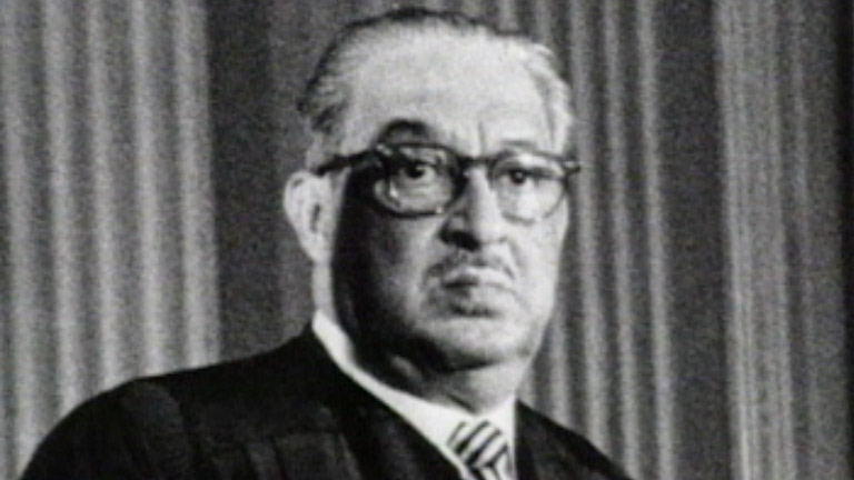 Thurgood marshall essay