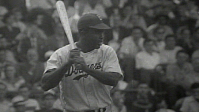a review of the life of jackie robinson Jackie robinson changed baseball and in doing so he changed america in fact, when life covered the filming of the movie of his life, 'the jackie robinson story' a wrinkle in time reviews.