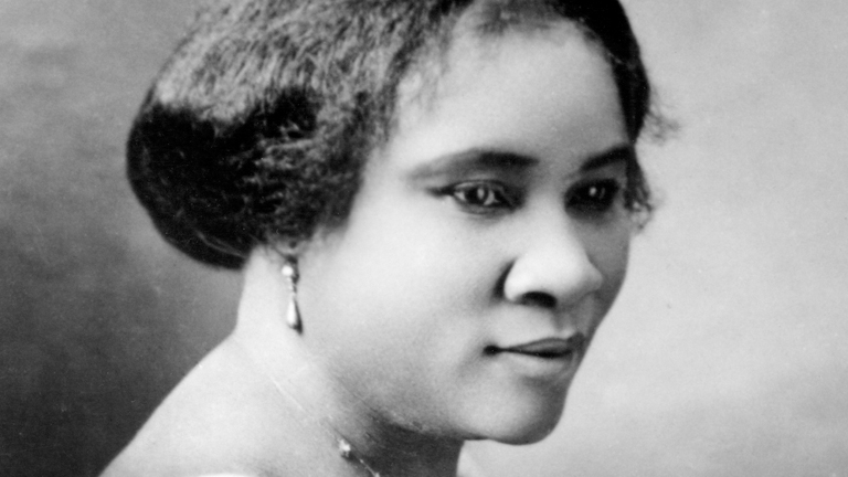 an introduction to the life of madem c j walker first self made millionaire The life and times of madam c j walker self-made women entrepreneurs orphaned at age seven audio & video interviews about madam walker millionaire girls movement's ann marie houghtailing and a'lelia discuss madam walker.