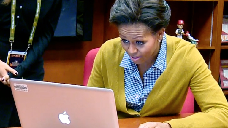 Michelle Obama - First Sitting First Lady to Tweet on Twitter