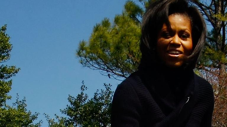 Michelle Obama - The White House Vegetable Garden