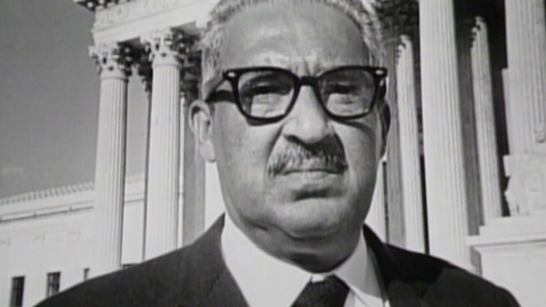 a biography of the life and times of thurgood marshall Thurgood marshall : black historians and others comment on the life and times of thurgood marshall from his childhood to his work with genre  biography.