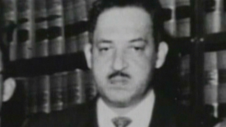 a biography of thurgood marshall Leia «thurgood marshall: a biography» de glenn l starks com a rakuten kobo thurgood marshall was the first african american supreme court justice as.