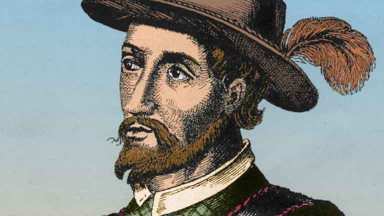 a biography of ponce de leon Ponce de león was of noble but impoverished spanish stock, born around 1460  near valladolid although he was an hidalgo or gentleman, his prospects were.