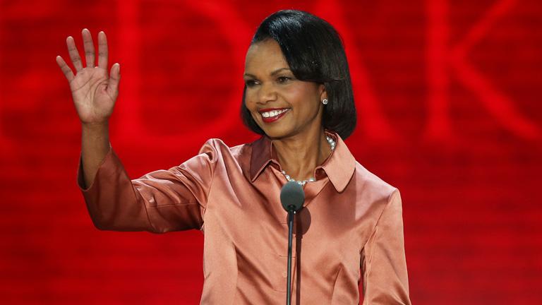 Im writing a essay on Condoleezza Rice.?
