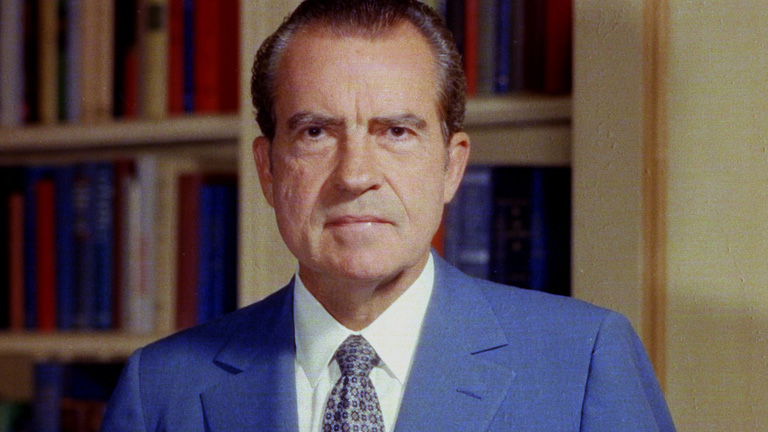Richard Nixon - Mini Biography - 1000509261001_2085990537001_Bio-Biography-Richard-Nixon-SF