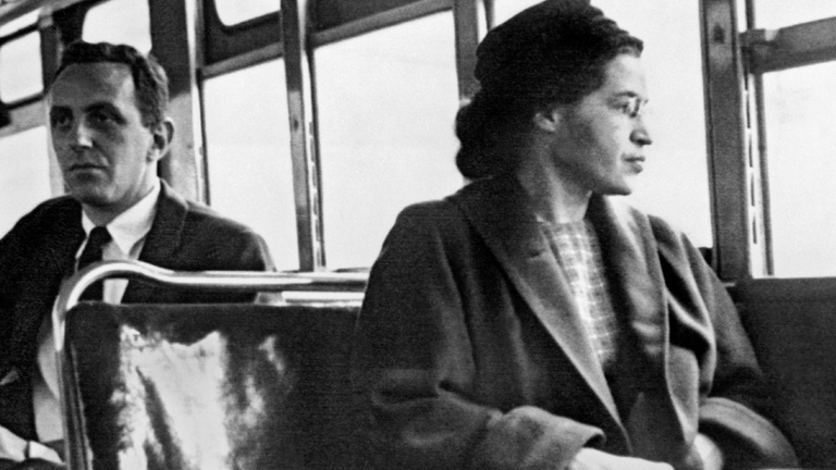 an analysis of the woman who changed a nation by rosa parks Sixty years ago, rosa parks refused to give up her seat on a bus in montgomery, alabama her courageous act is now american legend she is a staple of elementary school curricula and was the.
