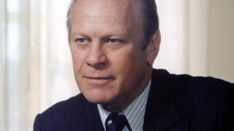 Gerald Ford - <b>Mini Biography</b> - BIO_Bio-Shorts_Gerald-Ford-Mini-Biography_0_181274_SF_HD_768x432-16x9