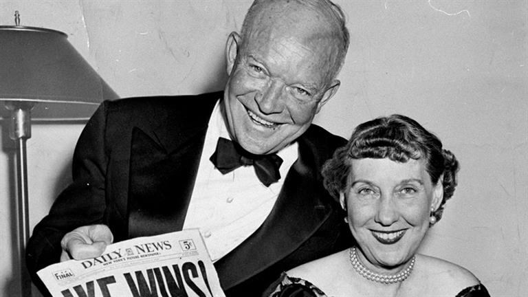 the biography of dwight eisenhower Facts, information and articles about dwight d eisenhower, wwii general and 34th us president dwight d eisenhower facts born 10/14/1890 died 3/28/1969 spouse.