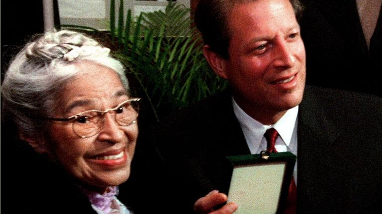 a short biography of rosa louise parks About rosa parks: rosa louise mccauley parks was an african american civil rights activist whom the us congress later called the mother of the modern.
