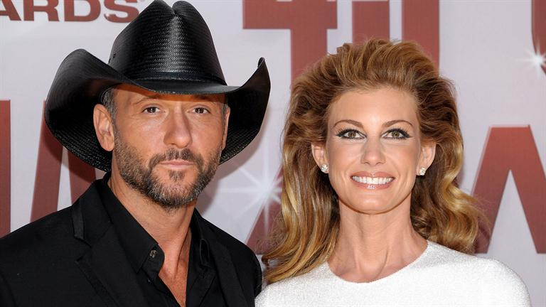 Faith Hill couple
