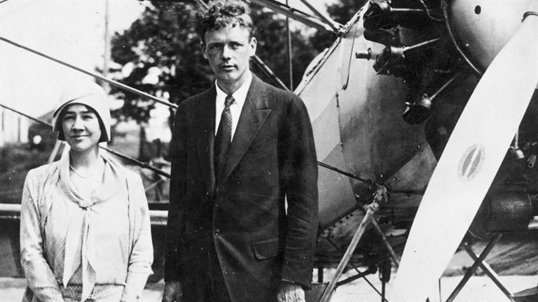 Anne Morrow Lindbergh and charles lindbergh