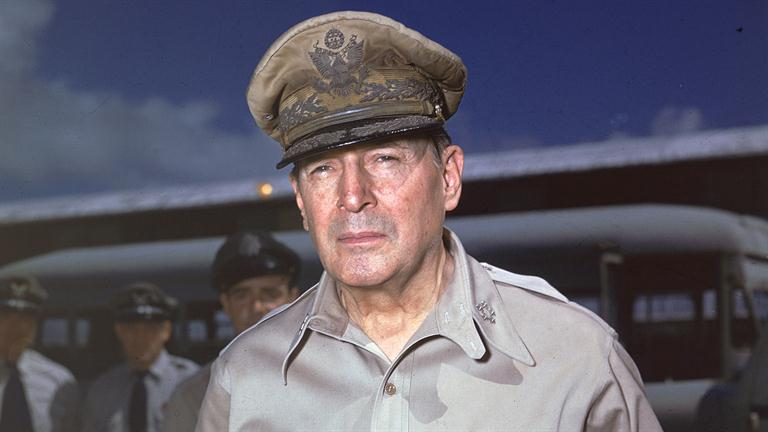 douglas mcarthur General douglas macarthur was one of the great military strategists in world war ii, and responsible for governing and rebuilding japan during the allied occupation.