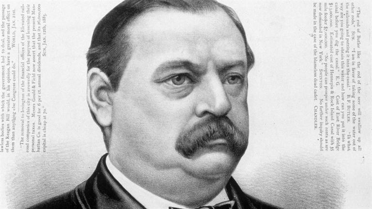 a biography of grover cleveland an american president Grover cleveland is best known as the only the president to serve two nonconsecutive terms while this feat is remarkable, it leaves an unfortunate omission in the life of a remarkable man in this concise biography, we are allowed a greater insight into this often forgotten president.
